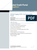 Global Aging 2010 - An Irreversible Truth - Standard and Poor's