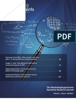 The MarketingExperiments Quarterly Research Journal, Q4 2010