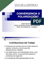 Convergencia o Polarización - Adolfo Meisel