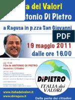Festa dei Valori, con Antonio Di Pietro