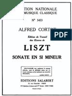 Liszt - S178 Sonata in B Minor (Cortot)