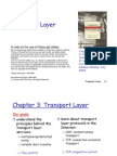 Networks - Chapter 3 - Transport Layer 1spp