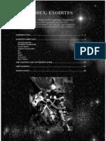 Warhammer 40k [Codex] Unofficial] Eldar Exodites