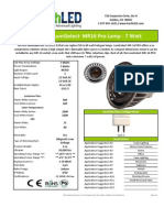 EarthLED LumiSelect™ MR16 Pro 7 Watt Lamp