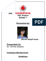 Vodafone IMC Project