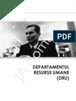 Departamentul de Resurse Umane