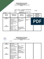 Plan de Clases y Evaluacion Calidad Total
