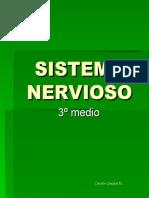CLASE 1 NERVIOSO 3º MEDIO I UNIDAD