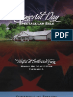Sale Catalog - Memorial Day Spectacular Sale