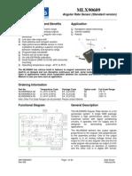 MLX90609 Datasheet