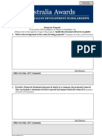 ADS Research Proforma Template