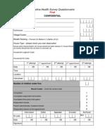 Baseline Household Survey