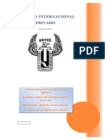Caso Practico Derecho Internacional Privado.