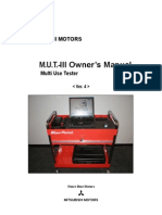 Mitsubishi MUTIII Manual