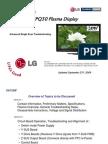 LG 42PQ30 Plasma TV Single Scan Troubleshooting Training Manual[1]