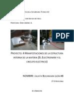 Proyecto 4 - Manifestaciones de la estructura interna de la materia