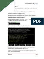 Instalasi DHCP Server pada debian 5 lenny