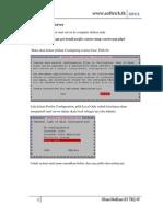 Konfigurasi mail server dengan squirrel mail debian 5 lenny