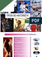 Tipos de Historietas