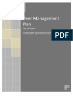 Deer Management Plan 1105a