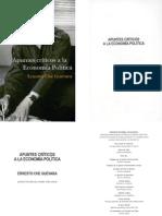 Che Ernesto Guevara  Apuntes criticos a la Ecomia Politica 1º