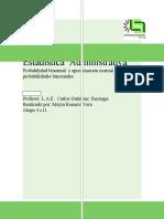 EJERCICIOS BINOMIALES Y APROXIMACIÓN DE LA NORMAL A LA BINOMIAL