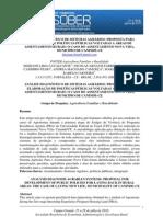 ANÁLISE DIAGNÓSTICO DE SISTEMAS AGRÁRIOS