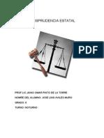 JURISPRUDENCIA ESTATAL DE LA SUPREMA  CORTE DE JUSTICIA DE LA NACIÓN