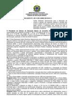 Resolução 03 15-06-10 - Diretrizes Operacionais de EJA