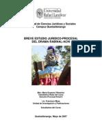Breve Estudio Juridico Procesal Del Drama Rabinal Achi