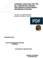 termoeconomic gasification