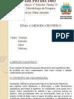 1º Seminário-Metodologia Científica