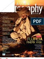 Asian Photography Magazine cover image and profile of photographer Robert Leon