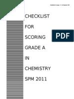 2011 Module Score A