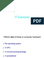 IT Exercises