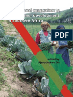 Institutional Constraints to Small Farmer Development in Southern Africa