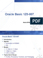 Oracle Basic 1Z0-007_final