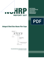 Nchrp Rpt Integral Steel Box)