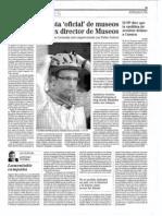 """La mujer de Paco Cuenca, subcontratista """"oficial"""" de museos, cuñada del ex director de Museos"""