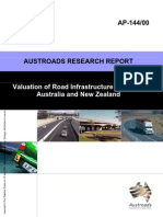 AP-144 00 Valuation of Road Infrastructure Assets in Australia and New Zealand
