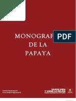 MONOGRAFIA PAPAYA2010
