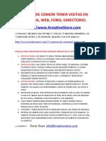 Directorios Para Las Tiendas, Webs, Blogs, Traer Trafico, SEO y Mucho Mas (Actualizacion 1)