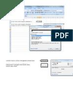 Excel Isi Program Macro Hitung Kebutuhan Besi
