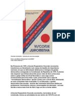 Visconde Juromenha - Anos 70 – Memórias de uma Luta Exemplar