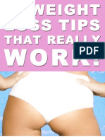 Weight Loss Tips That Really Work