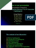 Discussion & Comparison Between 3rd & 4th Generation Cephalosporin