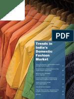 Trends in India's Domestic Fashion Market