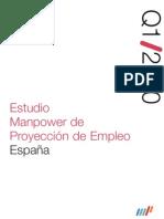 Estudio Manpower de Proyección de Empleo 1Q/10