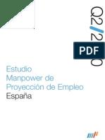 Estudio Manpower de Proyección de Empleo 2Q/10
