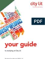 32941 CityLit Student-Handbook 2010 Sign Off
